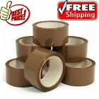 BROWN BUFF Parcel Packing Tape PACKAGING BOX SEALLING BIG ROLLS48mm x 66m