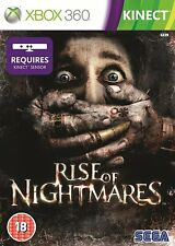 Rise of Nightmares ~ Kinect XBox 360 Game (in Great Condition)
