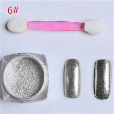 1g/box Shinning Mirror Powder Manicure Nail Art Sequins Chrome Pigment W780