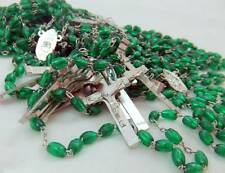MRT Rosary BULK Wholesale Lot 10 Sellers Student Green Bead O L Guadalupe 18""