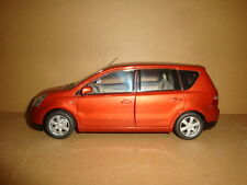 1/18 China NISSAN Livina orange color (mint without box!)+ gift