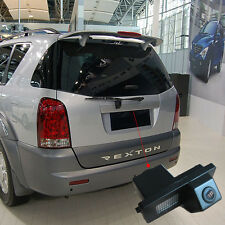 CCD Sensor HD Car Rear View Reverse Back Up Camera For Ssangyong Rexton Kyron