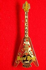 HRC Hard Rock Cafe Chicago 15th Anniversary Flying V Guitar Bullet Hole LE