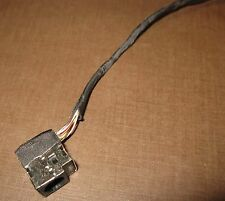AC DC POWER JACK w/ CABLE HARNESS HP PAVILION G62 COMPAQ CQ62 CHARGE PORT SOCKET