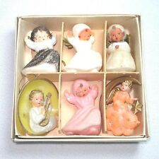 Box German Brass Wing, Other Angels Christmas Ornaments