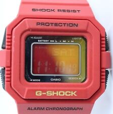 Casio G Shock G-5500C-4CR Men's Watch RED NIB Rarely Seen on Ebay Module 3062