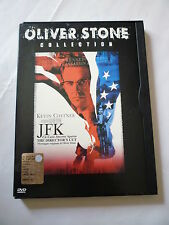 JFK UN CASO ANCORA APERTO The director's Cut OLIVER STONE collection SNAPPER DVD