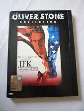 JFK UN CASO ANCORA APERTO The director's Cut OLIVER STONE collection SNAPPER DVD