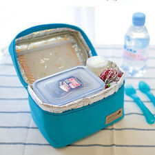 New Lunch Thermal Small Portable Insulated Cooler Picnic Carry Tote Storage Bag