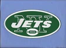 """New York Jets  Oval 1 1/2 X 3  """" Iron on Patch Free Shipping"""