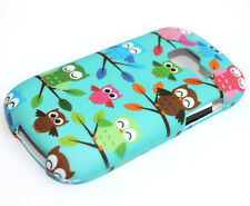 for Samsung Galaxy Discover Centura R740 Turquoise Green Owl Hard Protector Case