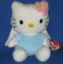 TY HELLO KITTY BLUE ANGEL BEANIE BABY with TAGS - UK EXCLUSIVE - PLEASE READ