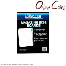 Ultra Pro Comic Series - MAGAZINE Size Comic Backing Boards x 100