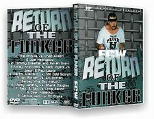 ECW Wrestling: Return of the Funker DVD, Terry Funk Cactus Jack Sabu Taz WWE WCW