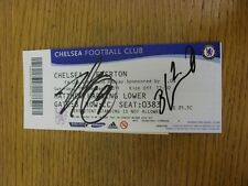 19/02/2011 Autographed Ticket: Chelsea v Everton [FA Cup] - Hand Signed By Ivano