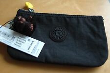 NWT KIPLING Creativity L Medium Pouch/ Purse Black AC2084
