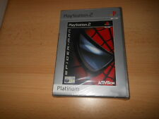 BRAND NEW FACTORY SEALED SPIDERMAN (PLATINUM) PLAYSTATION 2 PS2 SONY