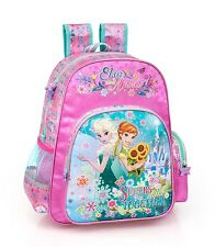 Disney Frozen Fever Backpack Rucksack Travel Large School Bag Girls Elsa Kids