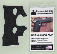 Tractiongrips brand grips for Colt Mustang XSP (polymer frame .380) rubber grip