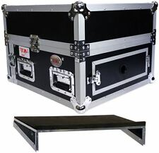 Pro X T-4MR 4U x 10U Space Slant DJ Combo ATA Rack Case + Sliding Laptop Shelf