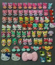 Hello Kitty Irregular 70 pcs Kawaii Cabochon Lot DIY decoden Kit resin flatback