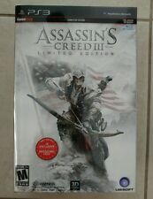 Assassin'a Creed III Game Stop Limited Collector's Edition PS3 (game included)