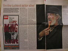 Ian McKellen account of Waiting for Godot West End production,newspaper clipping