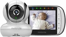Motorola MBP36S Camera Video Baby Monitor 3.5 Inch Color LCD Screen Brand New