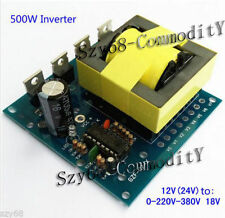 DC-AC Converter 12V to 220V 380V 18V AC 500W Inverter Board Transformer Power F
