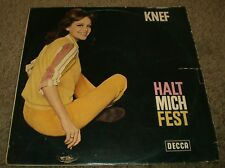 Halt Mich Fest Knef~RARE 1967 German Import Chanson Pop~FAST SHIPPING!!!