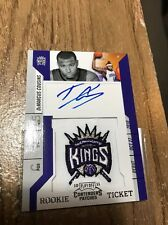 2010/11 Playoff Contenders Patches Demarcus Cousins 105 RC Rookie AUTO Autograph