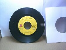 Old 45 RPM Record - Rolling Stones RS-19105 - Angie / Silver Train