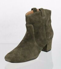 Women's Betty Muller Brown Suede Ankle Boots Shoes Size 6 M NEW