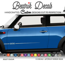 BMW MINI Side Stripe Sticker Decal Simple Graphic - ONE - Countryman Vinyl