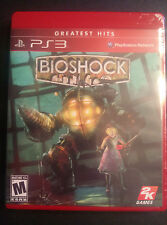 BioShock  (Sony Playstation 3, 2008) greatest hits New PS3