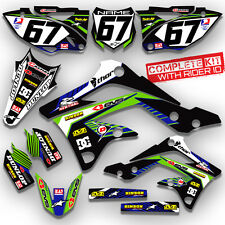 2010 2011 2012 2013 2014 2015 2016 KAWASAKI KLX 110 GRAPHICS KIT BIKE MOTOCROSS