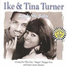 IKE & TINA TURNER Rock Me Baby Compact Disc ( CD ) VG