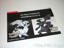 Brochure ~ All-New Pokemon Black / White Version Brochure ~ Nintendo DS