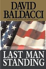 Last Man Standing by David Baldacci (2001, Hardcover)