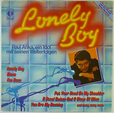 "12"" LP - Paul Anka - Lonely Boy - k5437 - washed & cleaned"