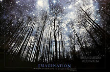 IMAGINATION - STARTS & FEET MOTIVATIONAL QUOTE POSTER (61x91cm)  NEW LICENSED