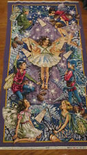 Fabric panel - Enchantment Fairy Panel - Flower Fairies