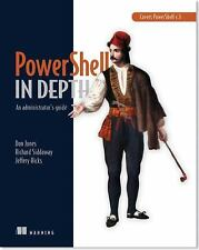 Learn PowerShell Toolmaking in a Month of Lunches by Don Jones and Jeffery...