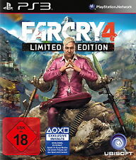 SONY PS3 Far Cry 4 IV Teil des Kult Psycho Shooter deutsch OVP komplett gebrauch