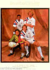 1994 World Cup Soccer World Cup USA 94 Gallery Card WI1 USA 4 players