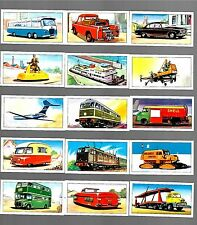 CIGARETTE/TRADE/CARDS Glengettie Tea.TRANSPORT.(1961). (Full Set 25).