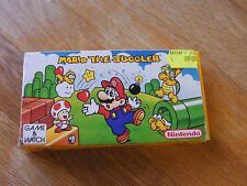 "Lcd game Nintendo "" Mario the Juggler "" game watch"