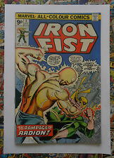 IRON FIST #4 - APR 1976 - RADION APPEARANCE - VFN- (7.5) PENCE COPY