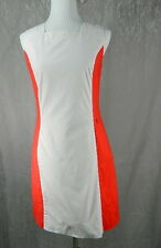 Penguin by munsingwear RED WHITE mod Sheath dress Size M Stripes indie go-go