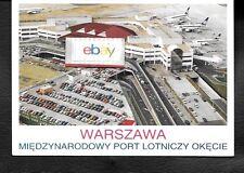WARSAW,POLAND WARSZAWA LOTNICZY OKECIE AIRPORT LOT POLISH 767'S POSTCARD